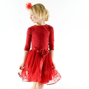 Poppy Red Tutu Skirt