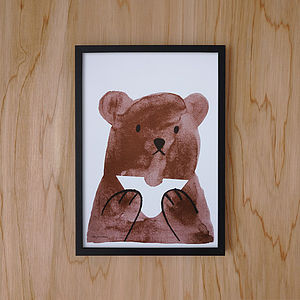 Buttie Bear Print