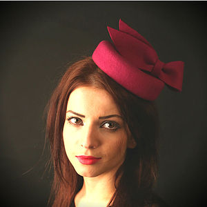 Valerie Felt Cocktail Hat