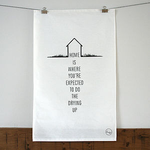 Home Tea Towel - home sale