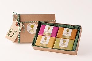 Natural Handmade Soap Gift Box - bath & body