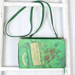 Book Club Green 'Beyond The Garden…' Clutch