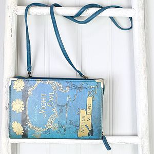 Book Club Blue 'Observations Of A …' Clutch - shoulder bags