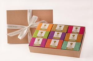 Luxury Handmade Soap Selection Gift Box - bath & body