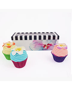 Box Set Of Mini Cupcake Bathbombs - gift sets