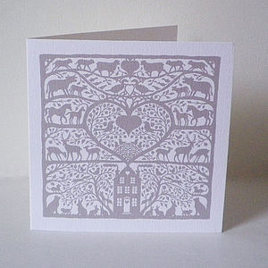 New Home Heart Card