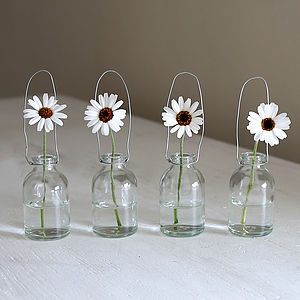 Miniature Single Stem Bottle Vase