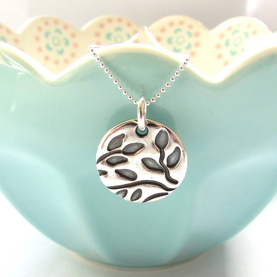 necklace by original leaves her notonthehighstreet product leaf com for breeze breezebaydesigns bay personalised