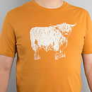 Men's 'Highland Coo' T Shirt