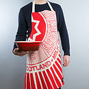 'Tunnock's Teacake Wrapper' Scottish Apron