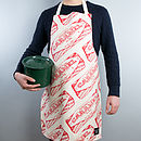 'Tunnock's Caramel Wafer' Scottish Apron