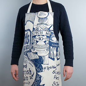 Scottish Breakfast Zoom Apron - cooking & food preparation