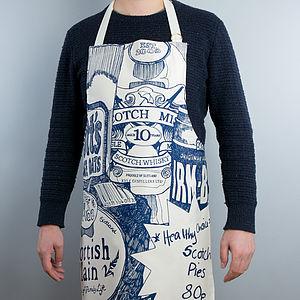Scottish Breakfast Zoom Apron - aprons