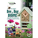 Bee & Bug Habitat with Wildflower Seeds
