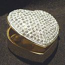 Glittering Heart Box