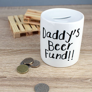 Personalised 'Fund' Moneybox - storage & organisers