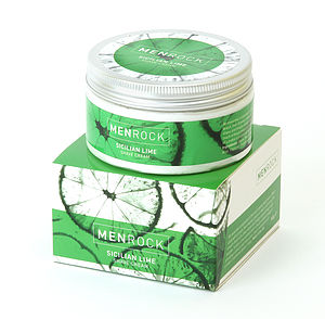 Sicilian Lime Shave Cream - men's grooming & toiletries