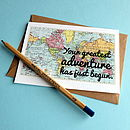 'Greatest Adventure' New Baby Card