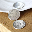 Personalised Silver Lucky Keepsake Coin