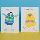 Easter 'Dancing Egg' Cards