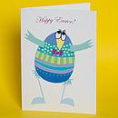 Easter 'Dancing Egg' Cards