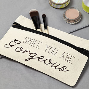 'Smile You Are Gorgeous' Case - bags & purses