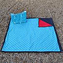 Oily Rag Waterproof Picnic Blanket Rug + Bag