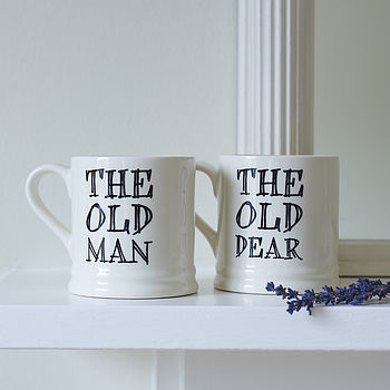 'The Old man' or 'Trouble & Strife' Mug