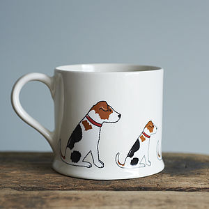 Jack Russell Mug - kitchen