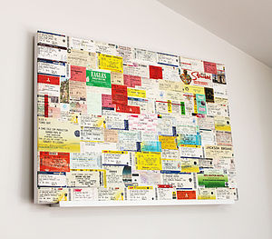 Your 'Favourite Ticket Stub' Artwork - posters & prints