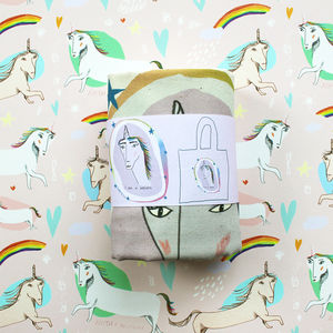 Unicorn Tote Bag - laptop bags & cases