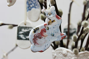 Bunny Hanging Decoration - easter decorations