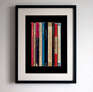 David Bowie 'Lodger' Album As Books Print