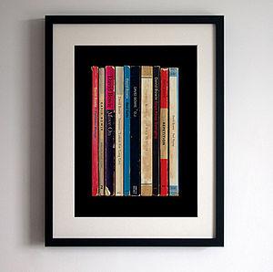 David Bowie 'Lodger' Album As Books Print
