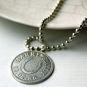 Personalised Sport And Hobby Necklace
