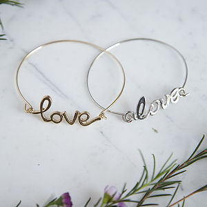 Delicate Love Bangle
