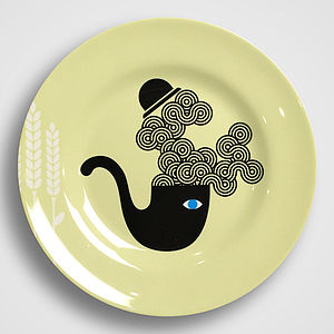 Mr Pipe Melamine Plate