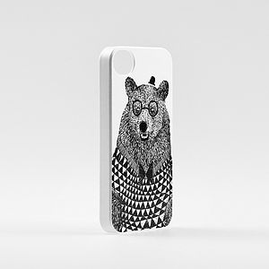 Bear iPhone Cover - bags & purses