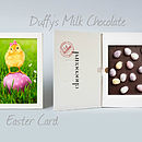 Personalised Easter Milk Chococard