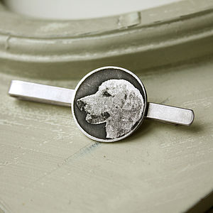 Personalised Dog Tie Clip - tie pins & clips