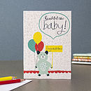 New Baby Blank Greetings Card