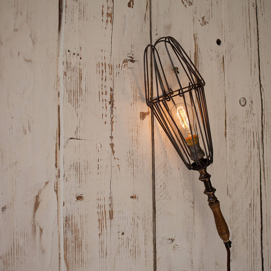 Wall Lights With No Wiring : wire wall light by nkuku notonthehighstreet.com