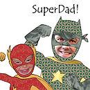 Personalised Super Dad Mug