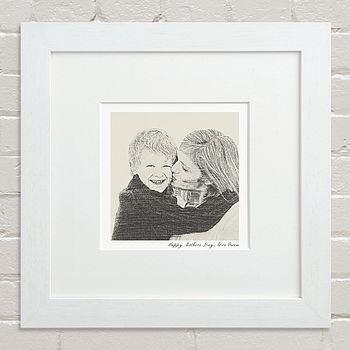 Bespoke Mother And Child Portrait