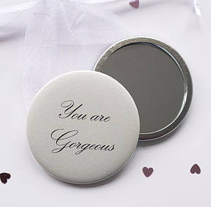 'You Are Gorgeous' Compact Mirror