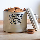 Personalised Biscuit Barrel