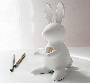Bunny Tape Holder - easter home