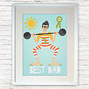 Personalised 'Father's Day' Print