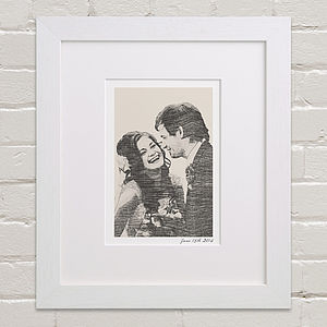 Bespoke Wedding Portrait - wedding gifts