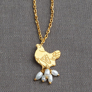 Mother Hen Pearl Necklace - necklaces & pendants